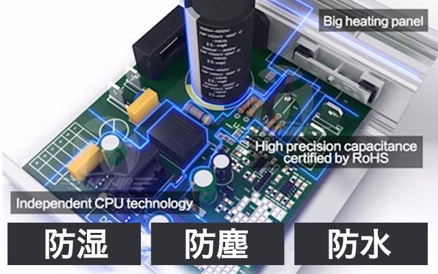 トレッドミル専用高性能CPU搭載